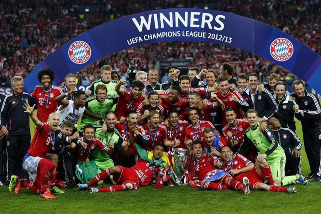 Bayern can win the treble! Mia San Bayern! 🔴⚪️ #MisSanMia #FCBayern ht...