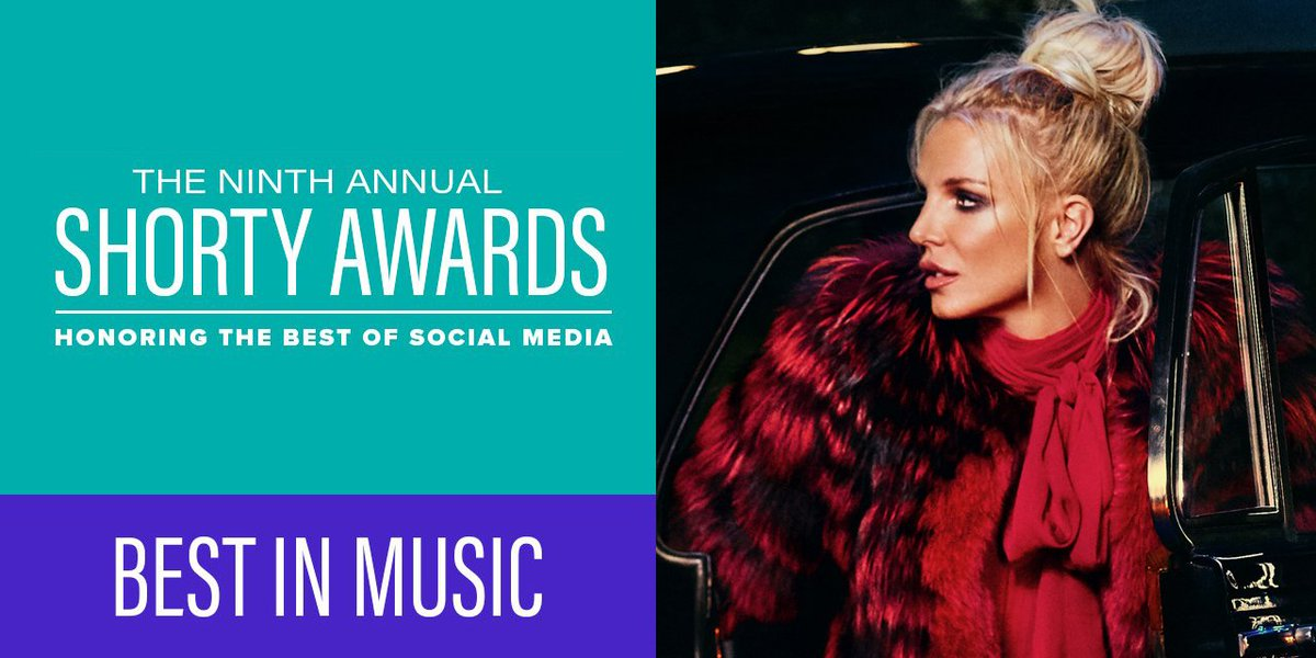 Don't forget to vote for @BritneySpears for the @shortyawards!!! ➡️VOT...