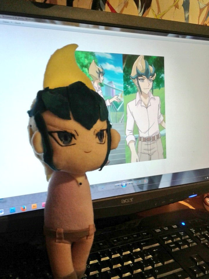 Pas de bras, pas de chocolat. #yugioh #kaito #plush #plushie #chibi #nendoroid #cute #kawaii #doll #anime #commission <br>http://pic.twitter.com/g7WrOkSQlL