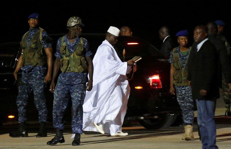 'Teslim olan' Gambiya'nın eski başkanı Jammeh giderayak ülkenin kasası...