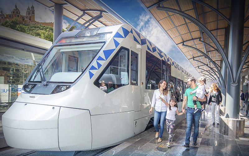 El tren turístico correrá de la zona centro de Puebla a la zona arqueológica de Cholula