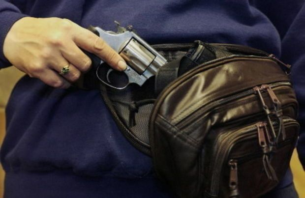 Survey: Concealed firearms not being allowed on Ohio college campuses...