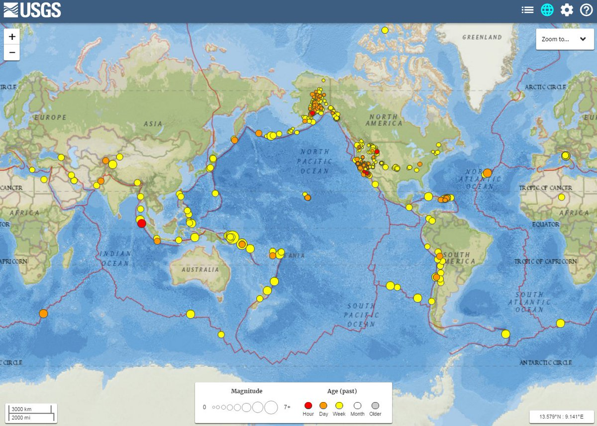 Usgs On Twitter Think You Felt An Earthquake Visit Our Real Time