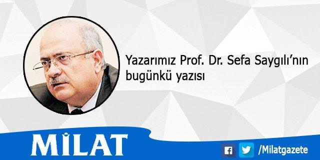 Prof. Dr. Sefa Saygılı'nın yazısı: Yusuf Kaplan'ın uyarısı https://t.c...
