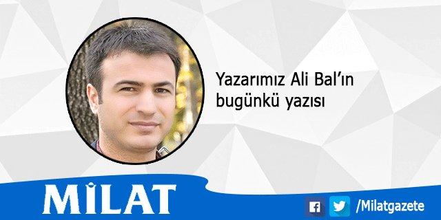 Yazarımız Ali Bal'ın yazısı: Anayasa'dan Anakafa Değişikliğine https:/...