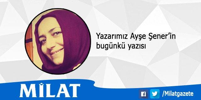 """Yazarımız Ayşe Şener'in yazısı: """"Otur! Sıfır!"""" https://t.co/MLd7GHwXCp..."""