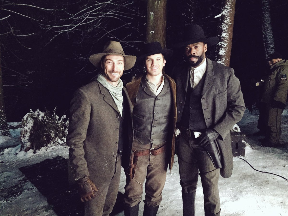 It was great to work with these guys @colmandomingo @MattLanter #Timel...