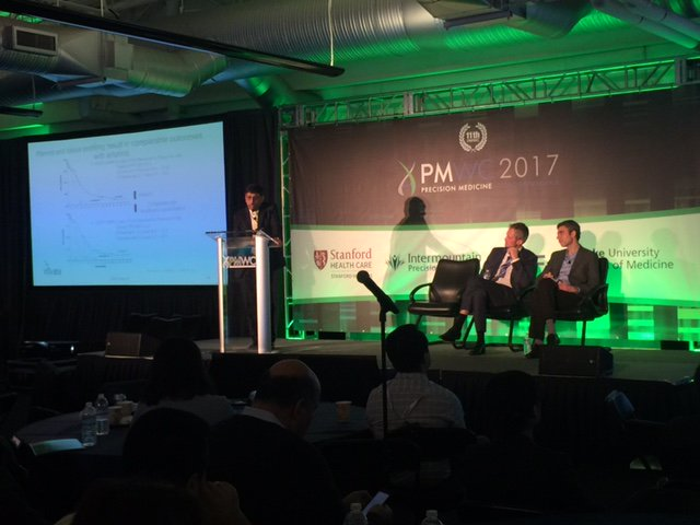 Govindan: Tumor heterogeneity - a single biopsy may be misleading - as different areas will have different subclone derived cells #PMWC17 https://t.co/evXlRKvAhv