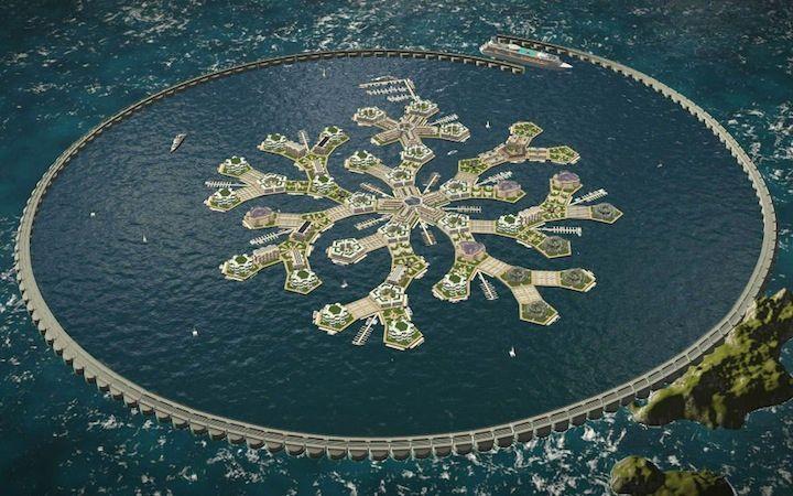 世界初の「海に浮かぶ都市」、仏領ポリネシアが建設合意 newsweekjapan.jp/storie…