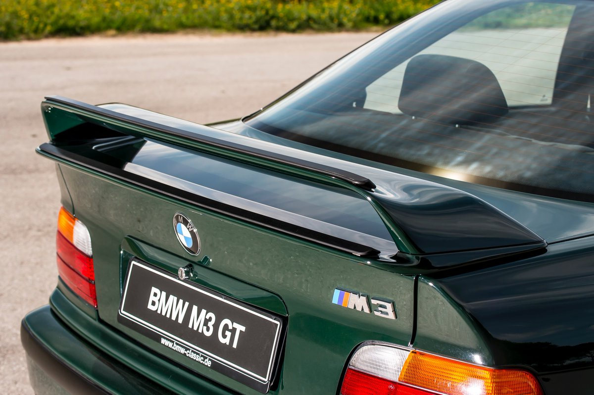 Bimmertips On Twitter The 1995 Bmw E36 M3 Gt Was Only Offered In British Racing Green Paint Code 312 Bmw M3 Mpower M3gt Learn More At Https T Co 0pssf1pel7 Https T Co Z7iqeye1zr