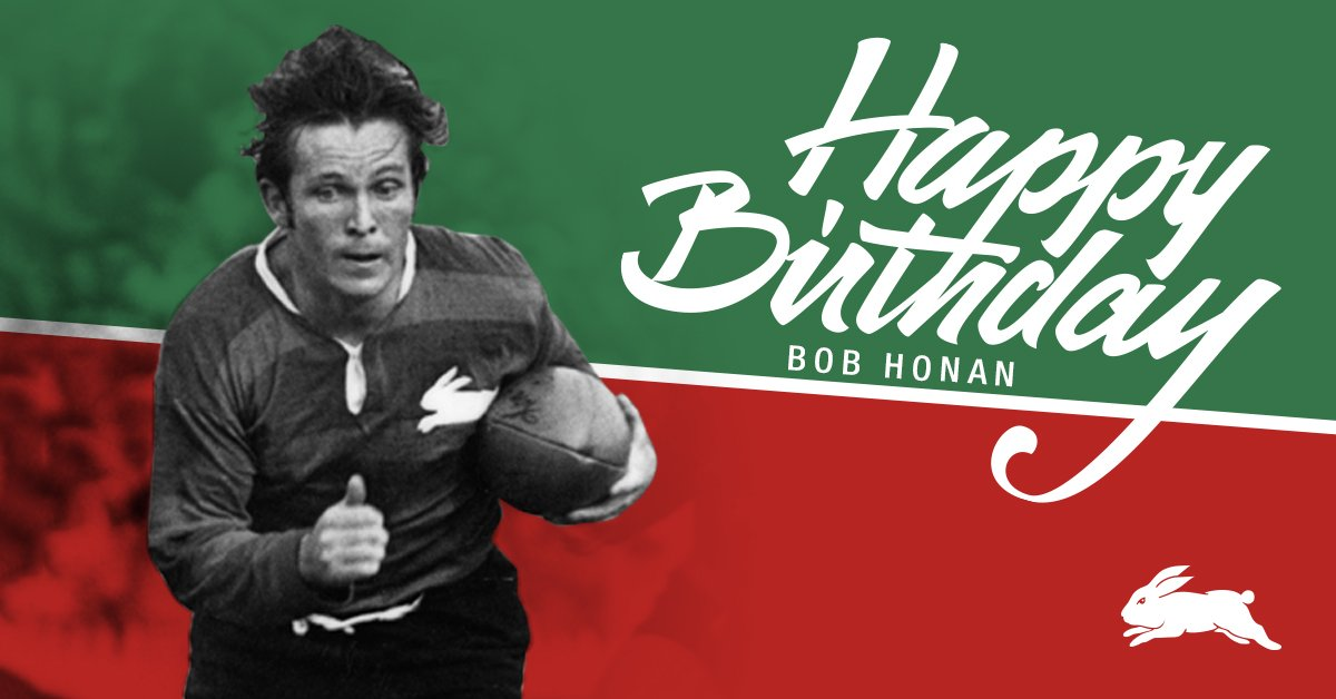 """South Sydney Rabbitohs 🐰 on Twitter: """"Happy 73rd Birthday to the ..."""