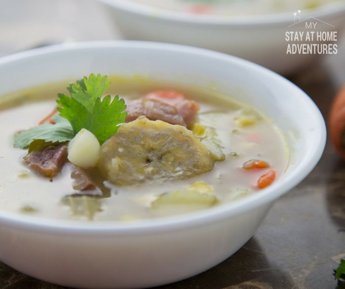 Leftover Ham & Plantain Soup to Warm Your During This Winter!
