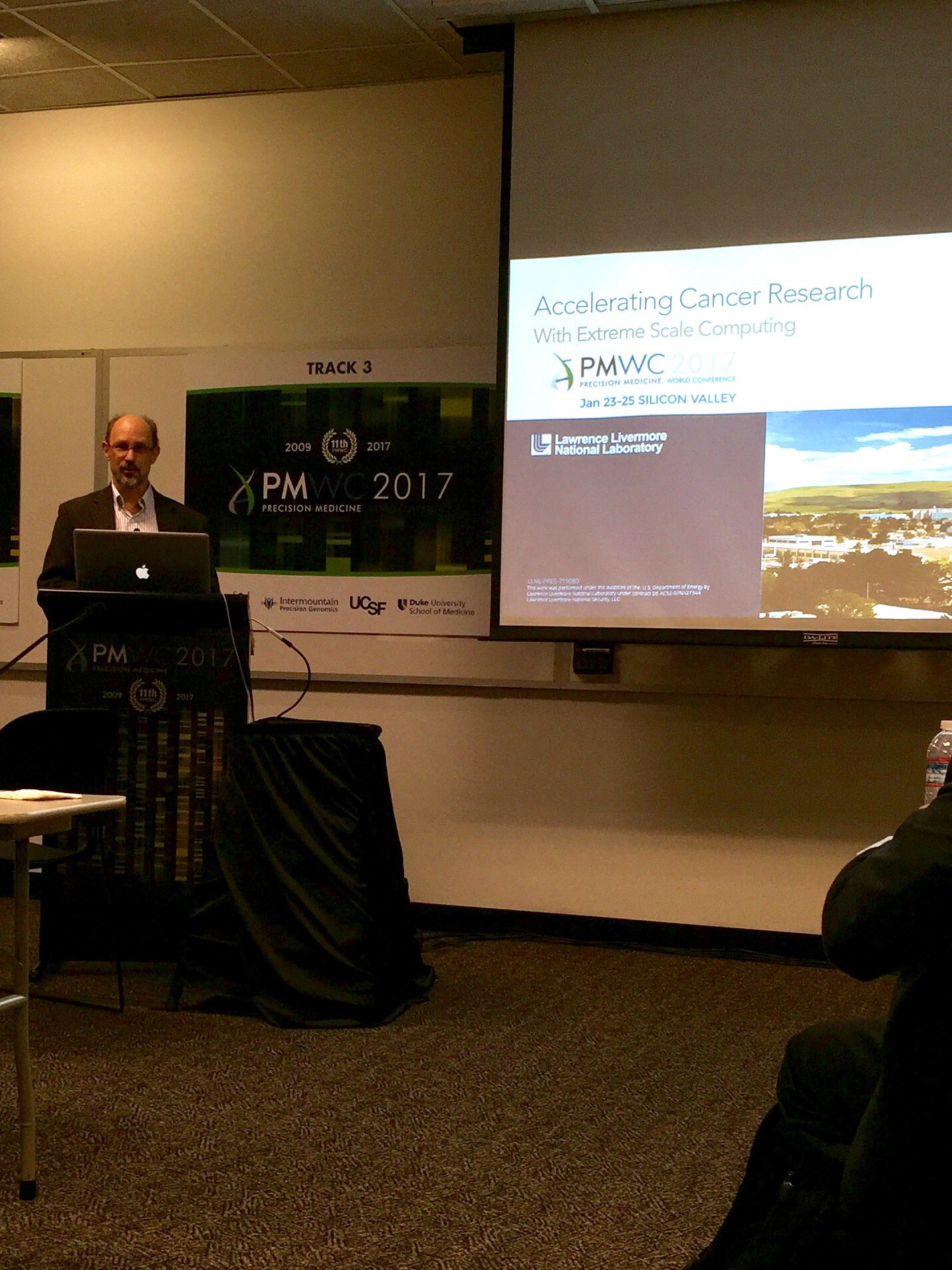 Predictive simulations-quantitative and actionable-possible with @Livermore_Lab supercomputers. @HPC_Innovate #PMWC17 https://t.co/I8sSxMYQsl