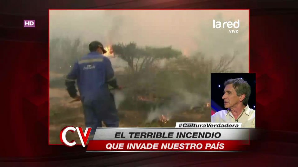 La feroz crítica de Sergio Nuño al Estado por la poca ayuda a Bomberos...