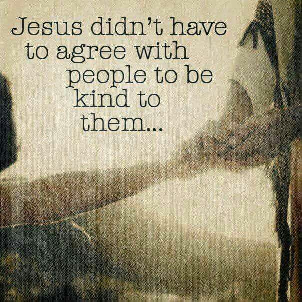 Be kind... Jesus would. https://t.co/6bSrGtjmXS