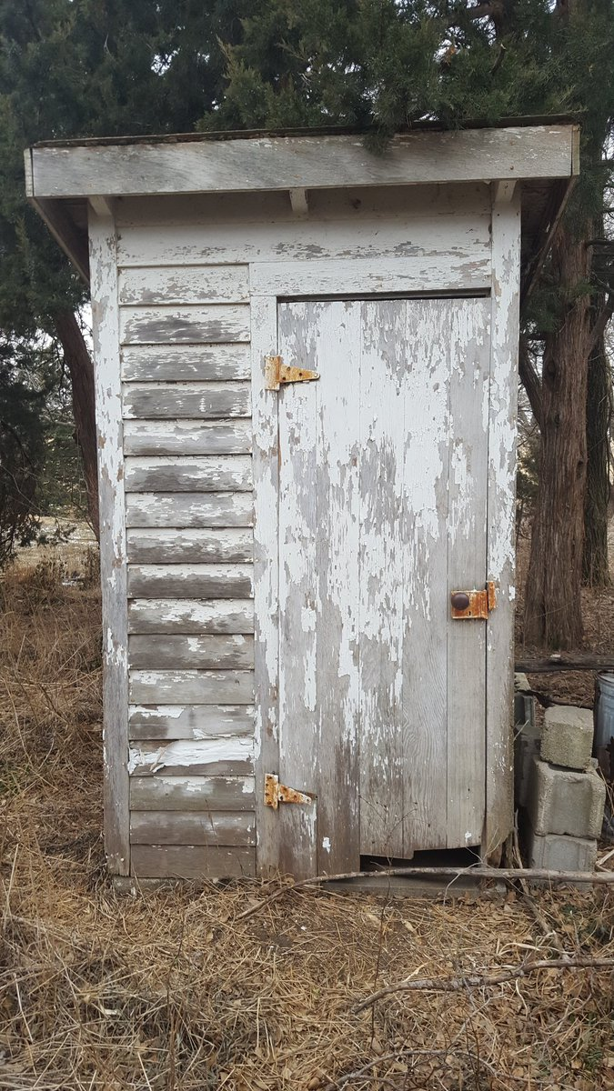 Chris Cheb On Twitter An Outhouse On A Unoccupied Farm Place - Outhouse bathroom