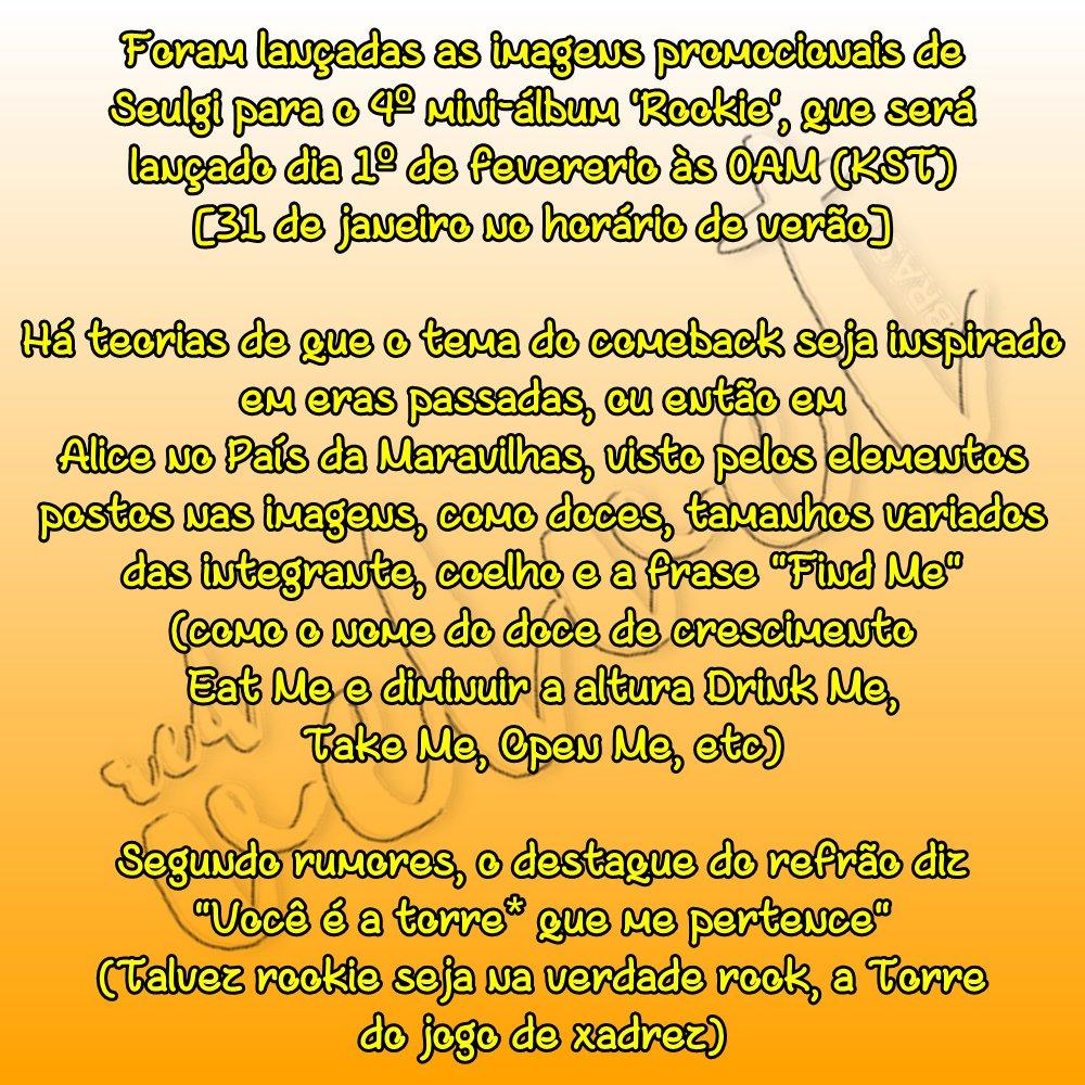Red Velvet Brasil Rbb On Twitter Info 240117 Resumo