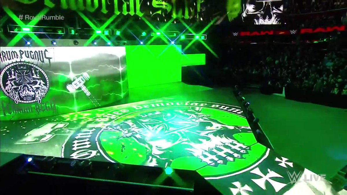 TIME TO PLAY THE GAME?! #RAW #RoyalRumble @TripleH https://t.co/p7zKlW...