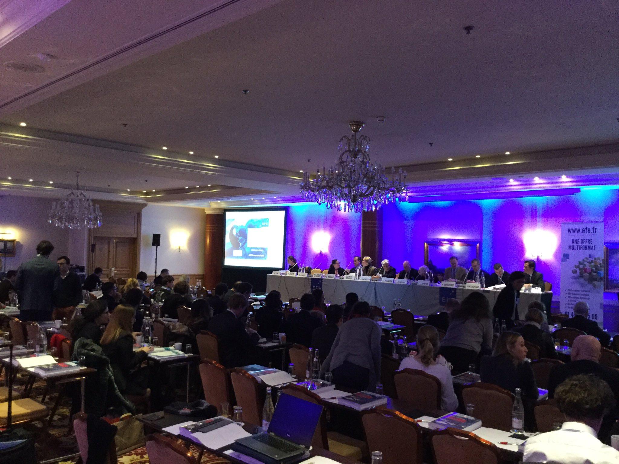 Les derniers participants s'installent. La 24e édition du Panorama Fiscal commence ! Réagissez en direct #EFEPanoramaFiscal https://t.co/TgEaOHCbdh
