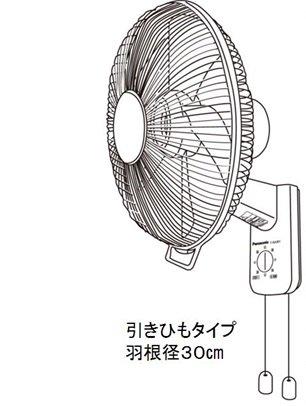 【リコール速報】Panasonic壁掛扇風機「F-GA301」(2008年~2014年製)で製品を焼…
