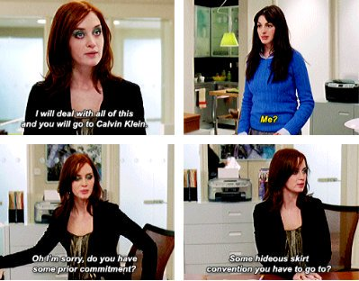 """16 savage burns from """"The Devil Wears Prada"""" that we're still recovering from"""