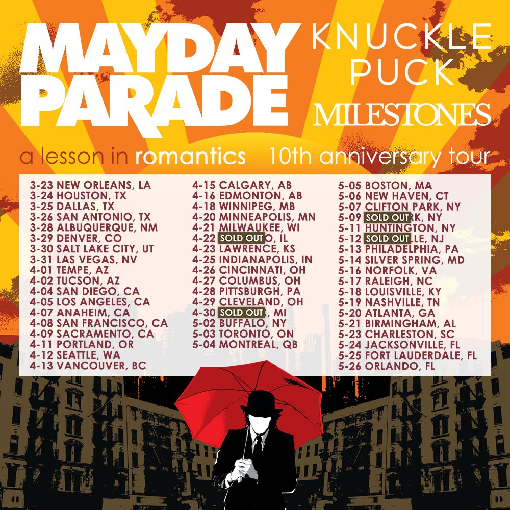 Mayday Parade On Twitter SURPRISE Weve Added More Dates To The A