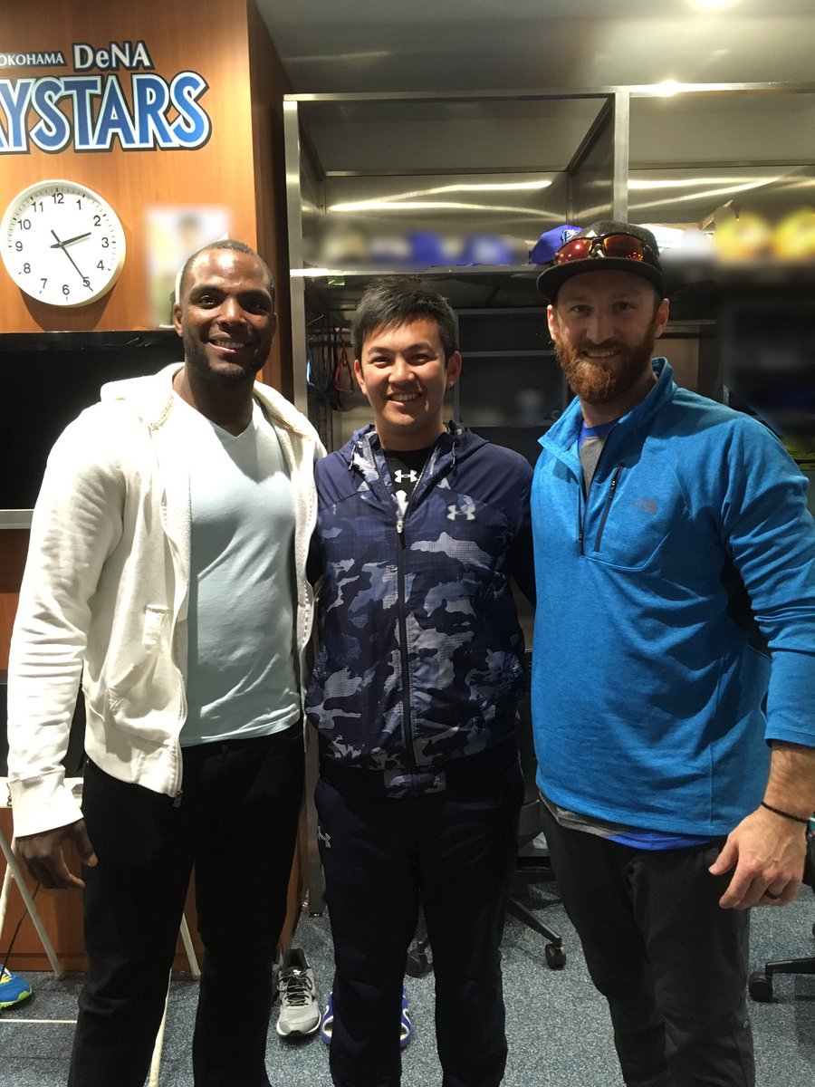 New teammate✨ Audy Ciriaco⚾︎Spencer Patton⚾︎  新戦力と…