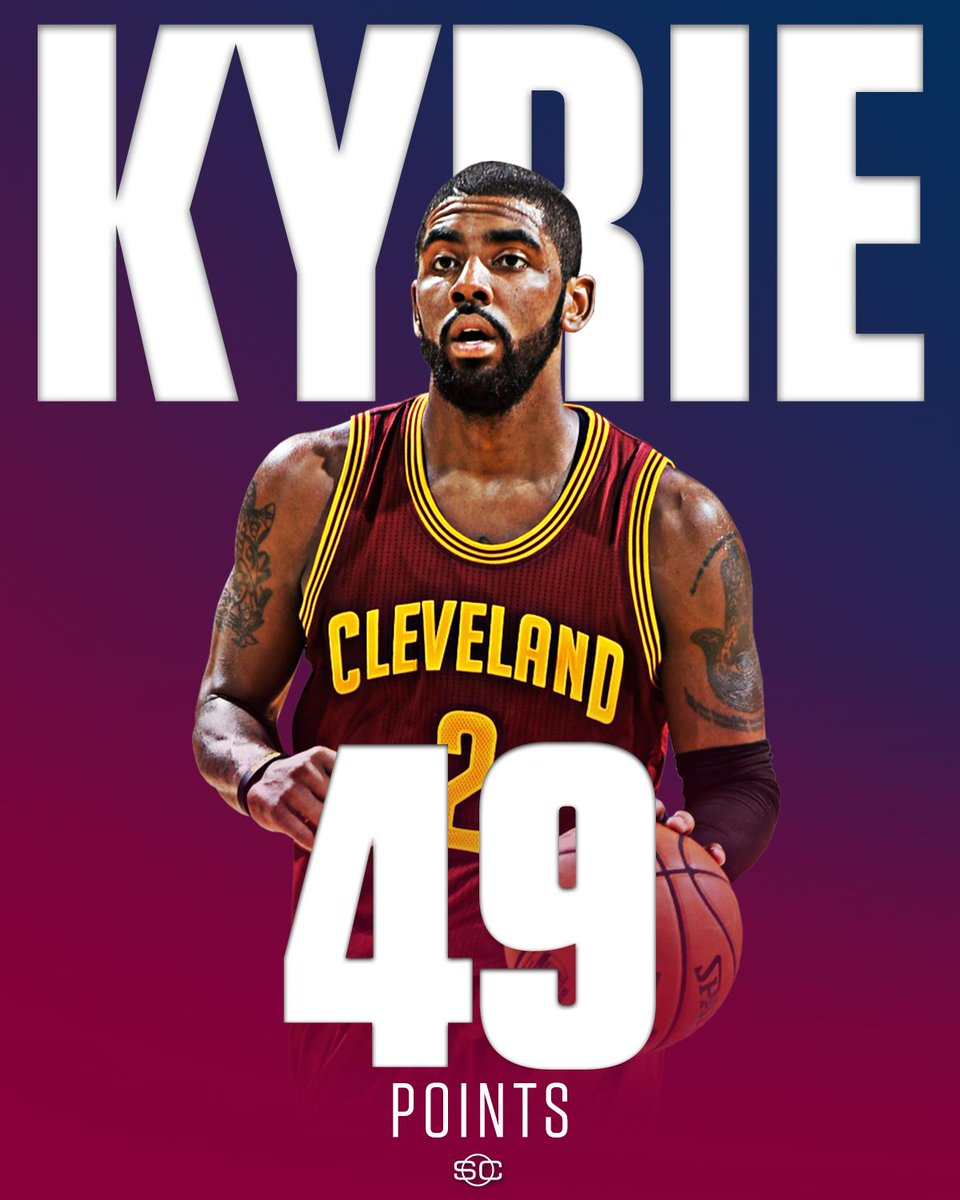 Despite Kyrie Irving dropping 35 of his 49 Pts in the 2nd half, the Pe...
