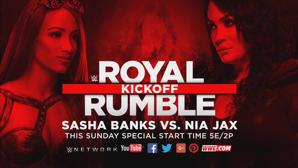 PLUS: @SashaBanksWWE and @NiaJaxWWE FINALLY go one-on-one on #RoyalRum...