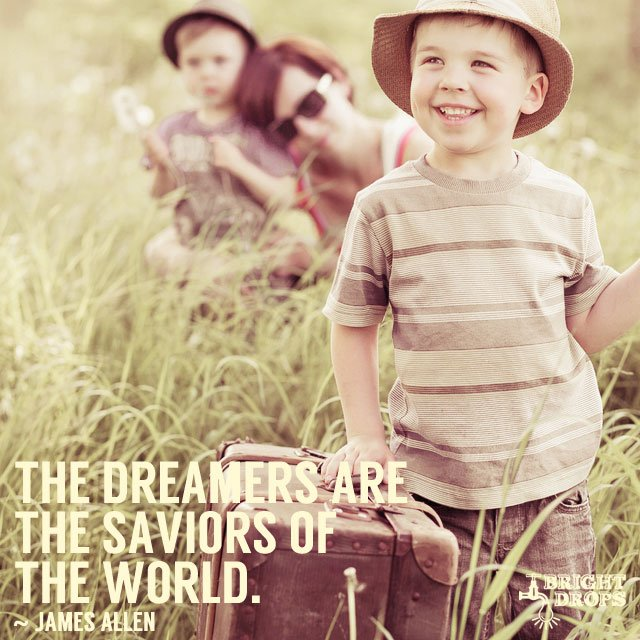 The dreamers are the saviors of the world. #quote #mondaymotivation ht...