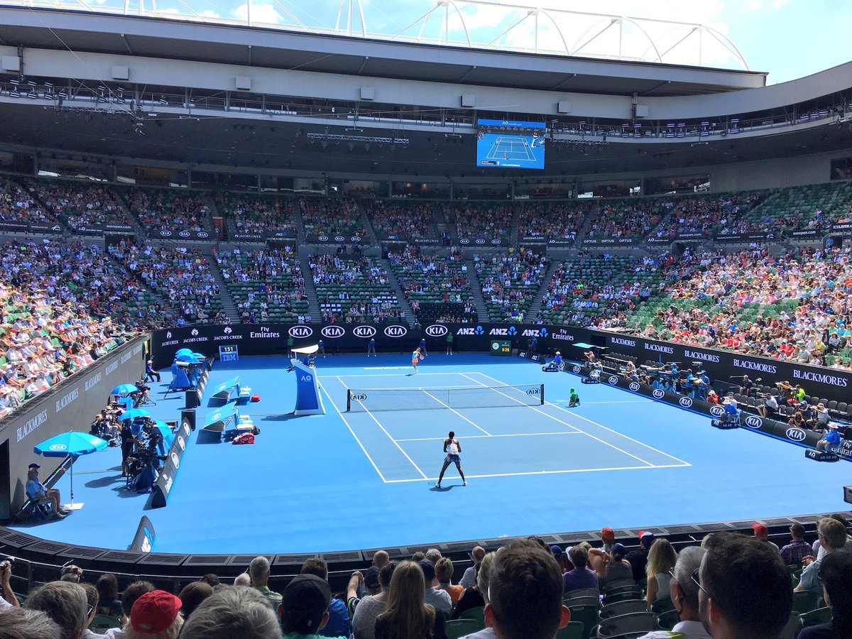 Big thank you to @Hostplus for invite to @AustralianOpen 🙌🏼🙌🏼🙌🏼 great...