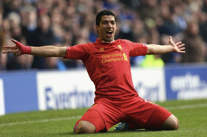 Happy 30th birthday to my all time favorite player and the best striker in the world, Luis Suarez
