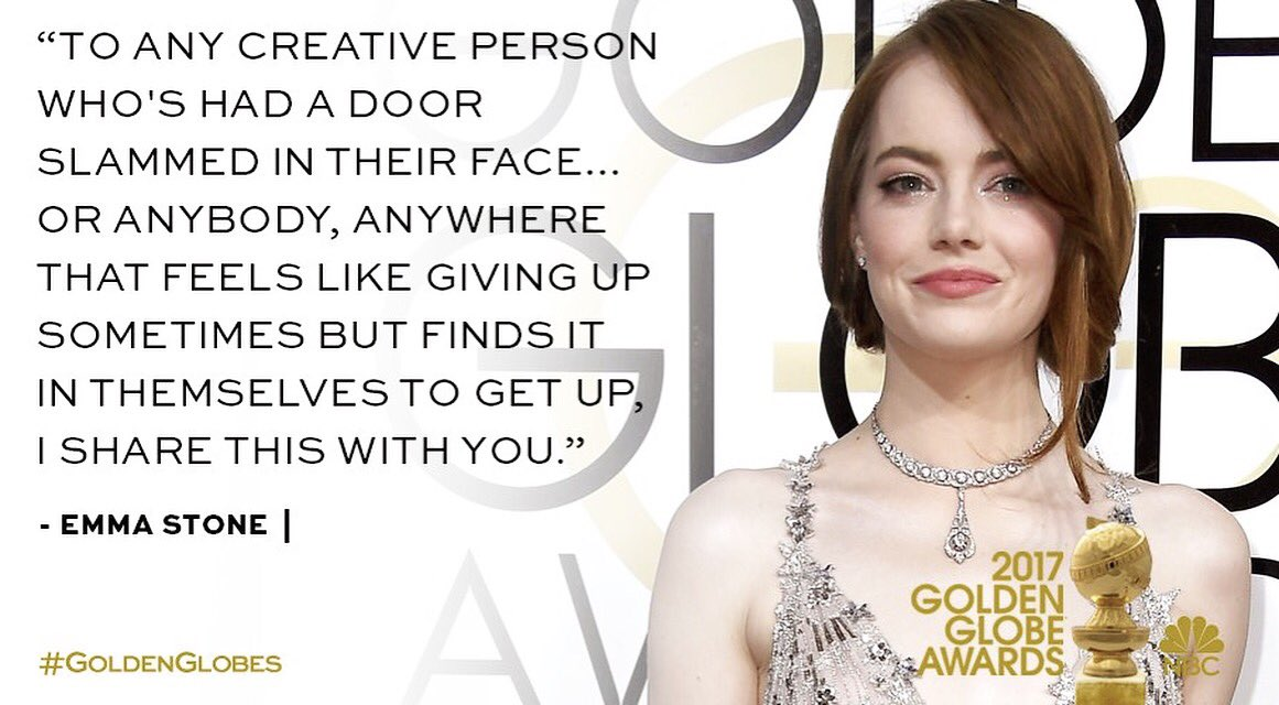 Needed to hear this again today #emmastone #lalaland https://t.co/NwR0...