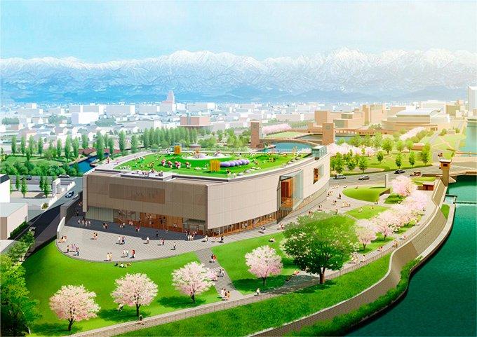 富山県美術館が富岩運河環水公園に17年8月オープン - 20世紀美術を中心に、アートとデザインを繋ぐ…