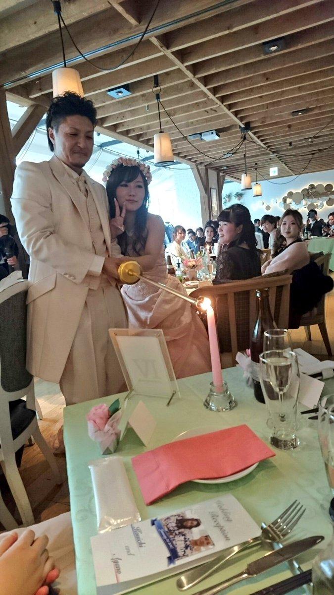 こないだは人生初の結婚式にお呼ばれ! たくさん幸せをもらってきた💕💕💕  ほんまに世界一可愛い花嫁さんやと思う笑 素敵すぎでした✨