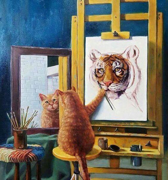 Have you painted a self portrait? #art #artists #portrait #paintings https://t.co/z2qKUQUQgo