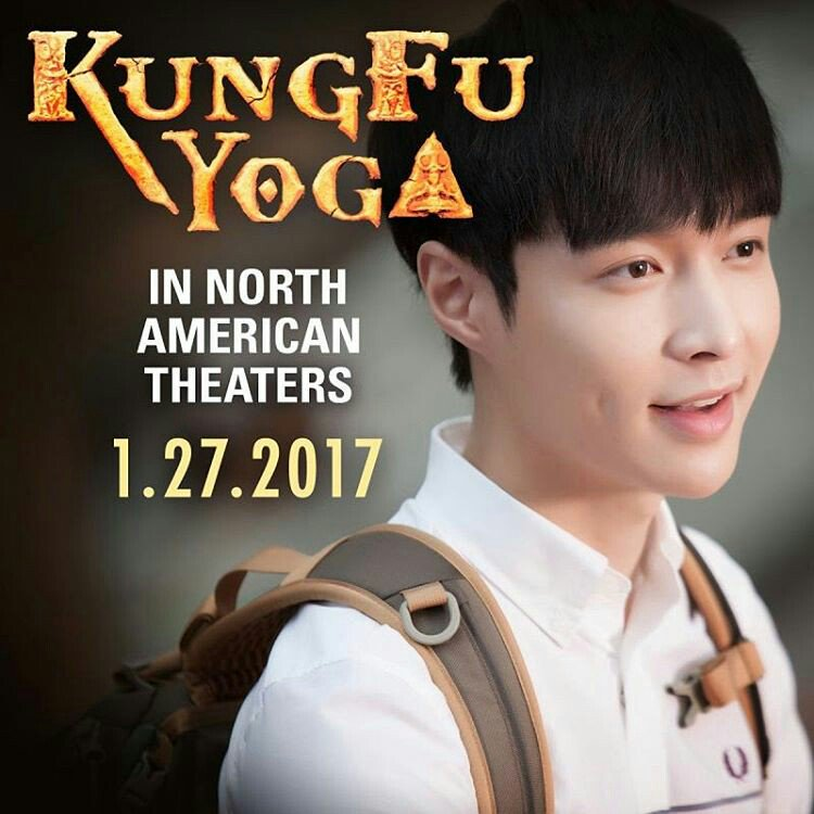 Go see my new film Kung Fu Yoga in North American Theaters January 27 it's a real KICK!