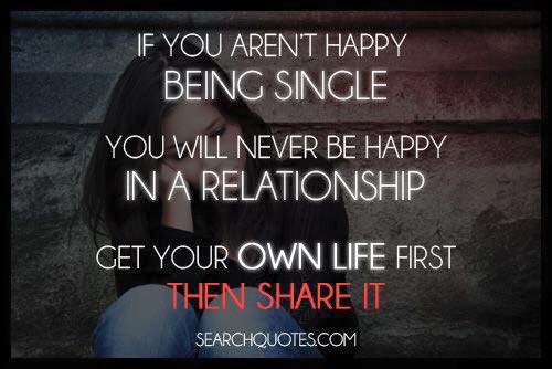 Get your own #life first and get #relationship #knowledge at: https://...