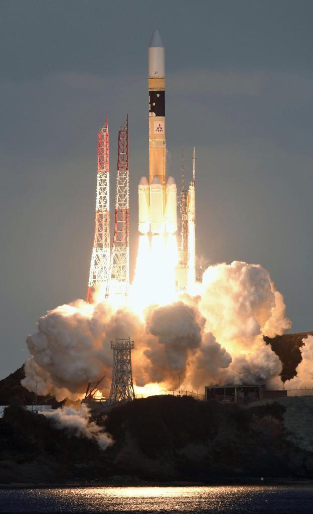 防衛省が初めて運用する通信衛星「きらめき2号」が打ち上げ sankei.com/photo/stor…