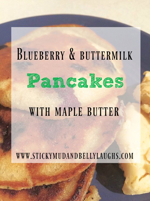 Blueberry And Buttermilk Pancakes