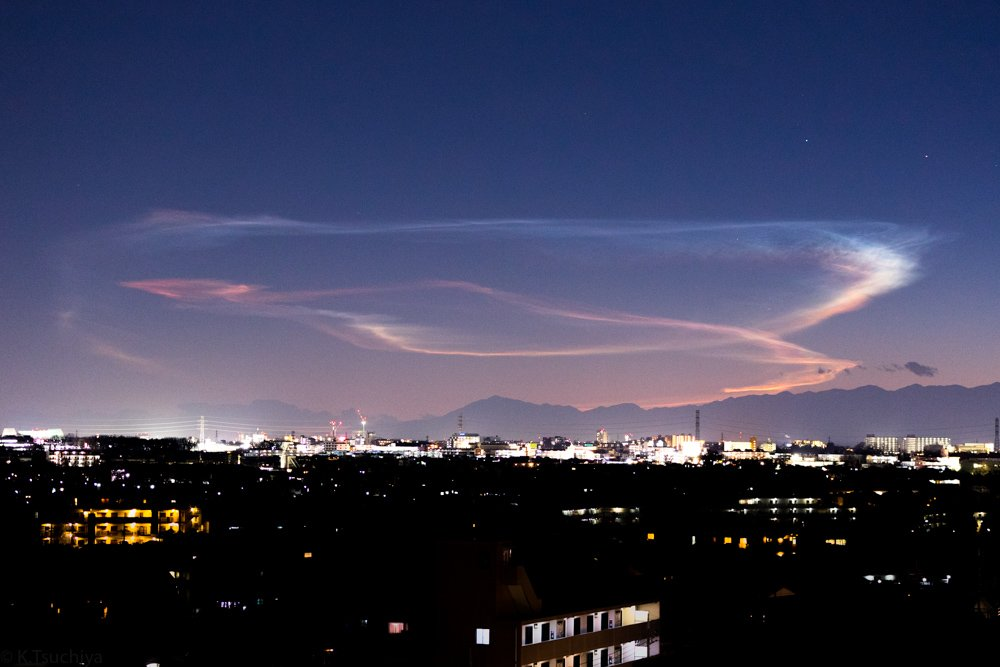 H2Aロケット32号機の「夜光雲」...
