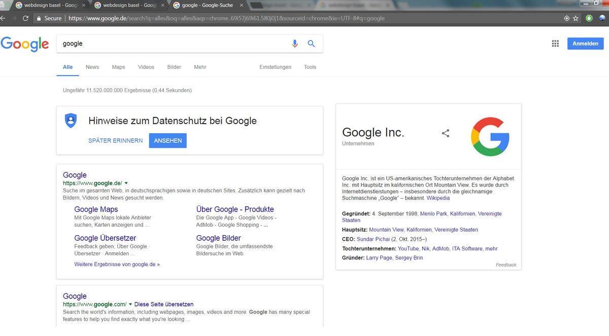 google app anmelden