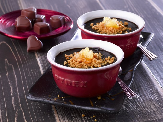 Ginger And Chocolate Pot: Valentines Treat...