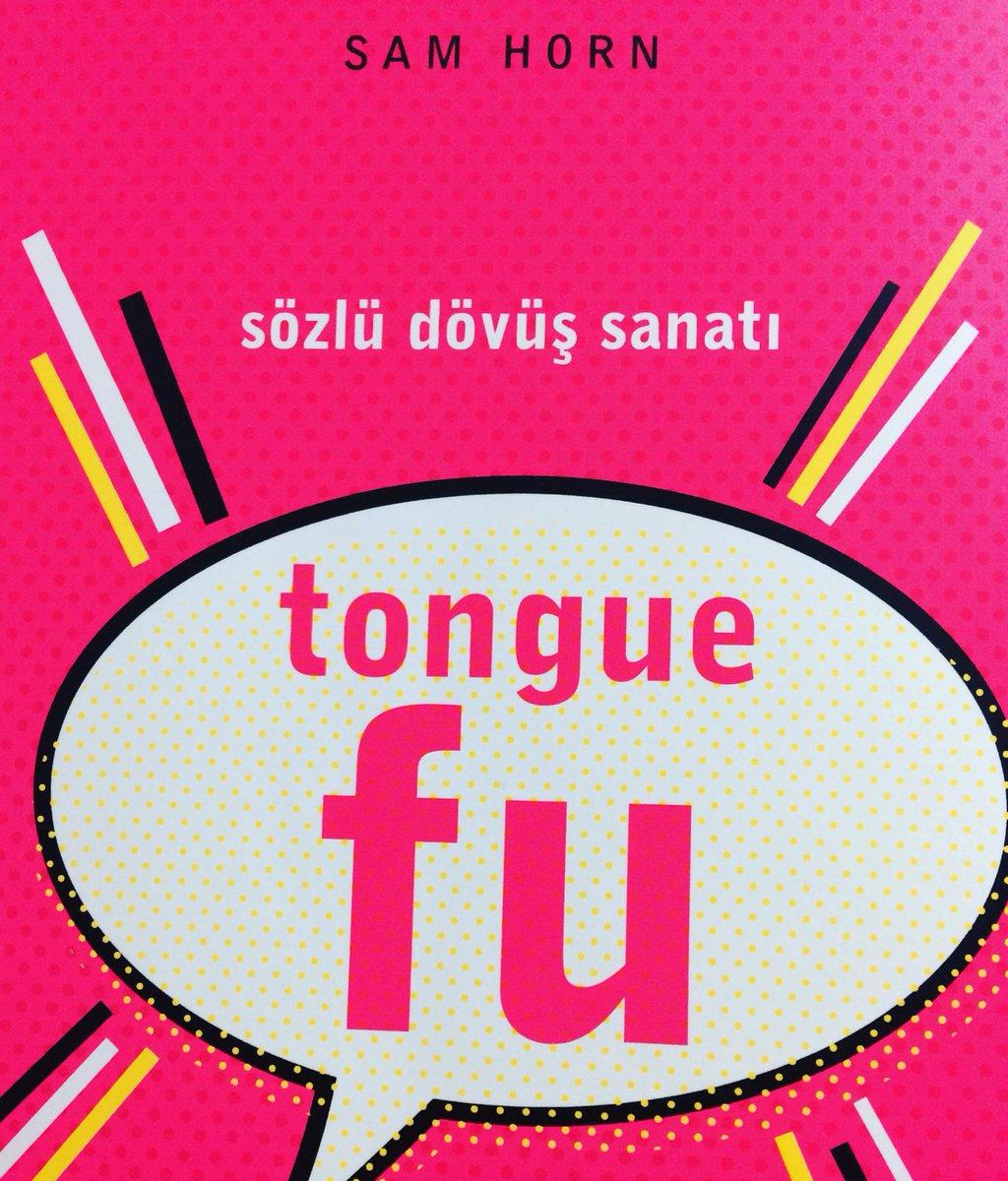 """Bu hafta https://t.co/UC7qNa3IAm 'da blog yazımız, Sam Horn'un yazdığı """"Tongue Fu"""" kitabını konu alıyor. Keyifli okumalar📚 https://t.co/td2CUYUh4J"""