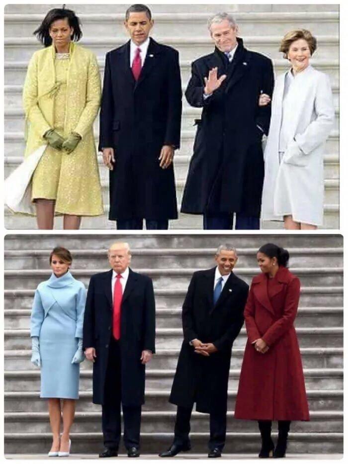 大統領になる人、大統領から解放された人の違い