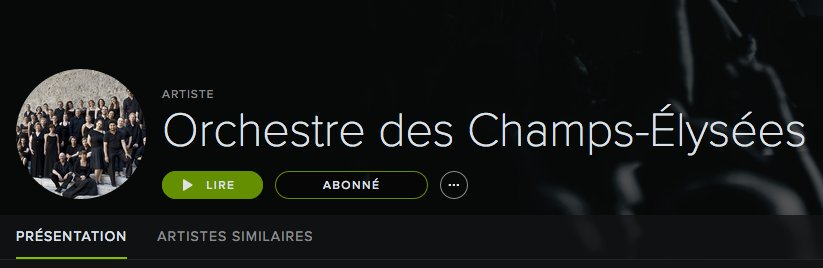 Abonnez-vous et suivez notre musique sur #Spotify :) | @Spotify  https:// play.spotify.com/artist/2YWNmkl KbU5v9RpVsfHWbU &nbsp; …  (#Herreweghe @Outheremusic @hm_inter #Bach #Brahms)<br>http://pic.twitter.com/GpGokFd0yq