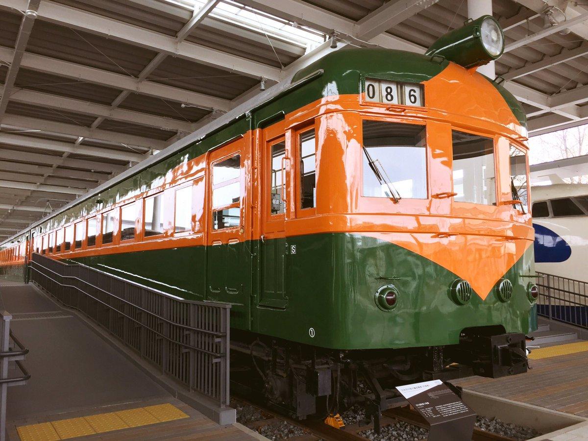 京都鉄道博物館に行きました🚄  たくさんの車両があって ジオラマも見れました💭✨  かぼちゃ電車(ク…