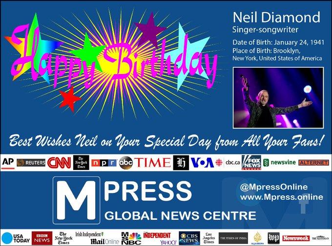 Happy Birthday Neil Diamond