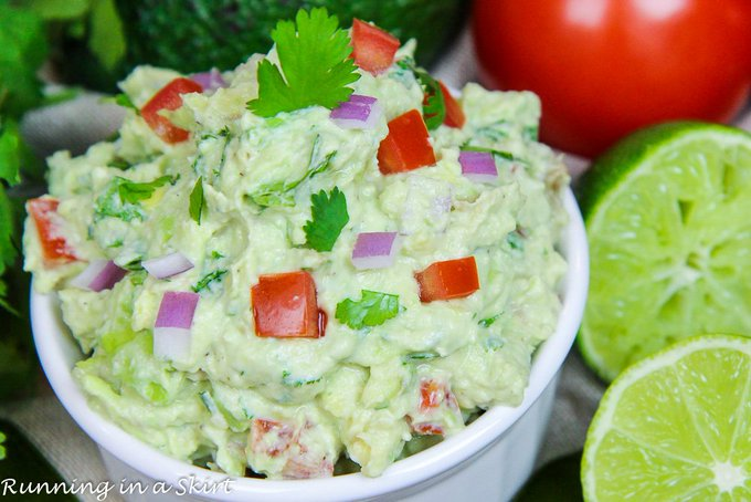 Healthy Greek Yogurt Guacamole