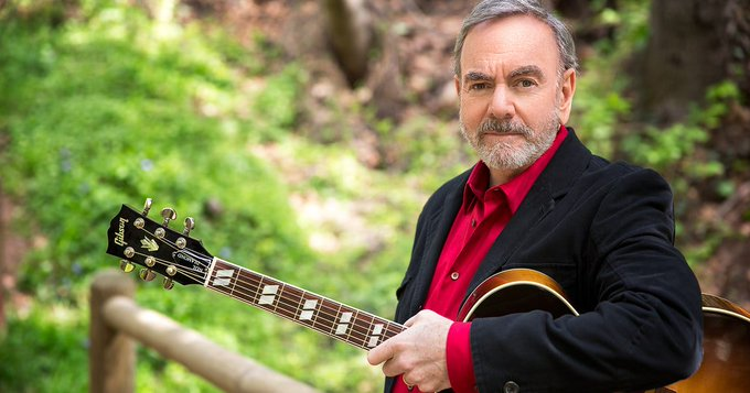 Happy Birthday to the one & only Neil Diamond! 76 years old today & he\s going out on tour this summer!